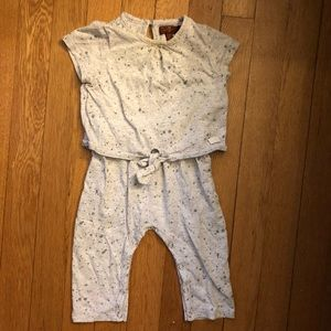 7 for all man kind baby girl romper